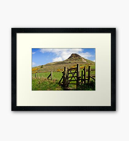 Roseberry Topping Framed Print