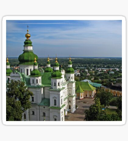 Trinity Cathedral -Chernigov, Ukraine  Sticker
