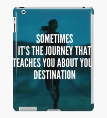Women's Fitness Inspirational Quote iPad Case/Skin