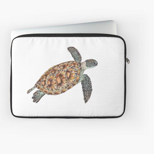 Green Sea Turtle Laptop Sleeve