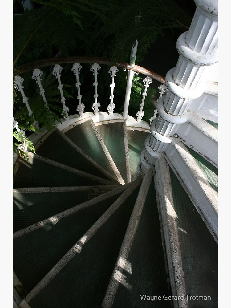 Victorian Stairway by redmoondragon