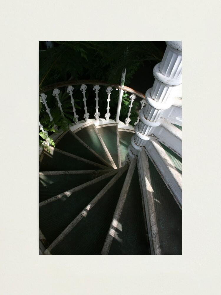 Alternate view of Victorian Stairway Photographic Print