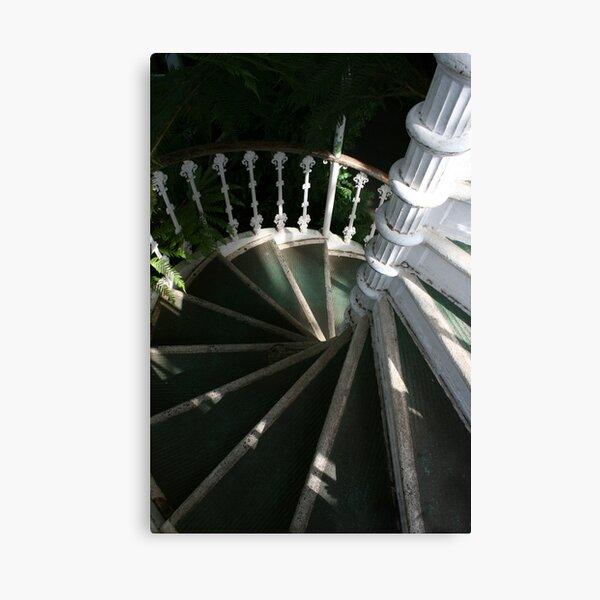 Victorian Stairway Canvas Print