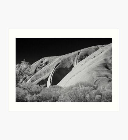 Uluru (Ayers Rock, Northern Territory, Australia Art Print