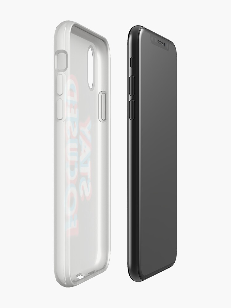Alternate view of Stay Focused iPhone Case & Cover