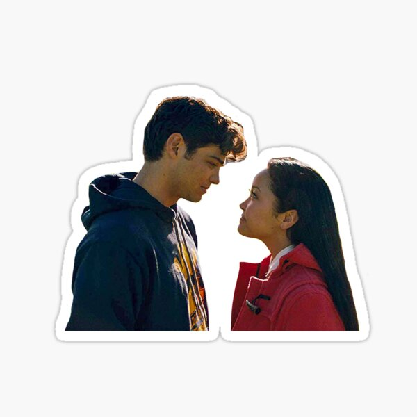 To All The Boys I've Loved Before - Lara Jean and Peter Sticker
