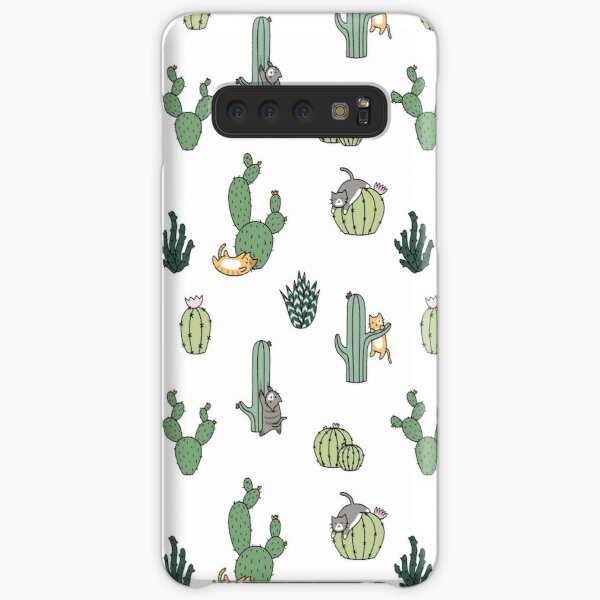 Cacti Cats Samsung Galaxy Snap Case