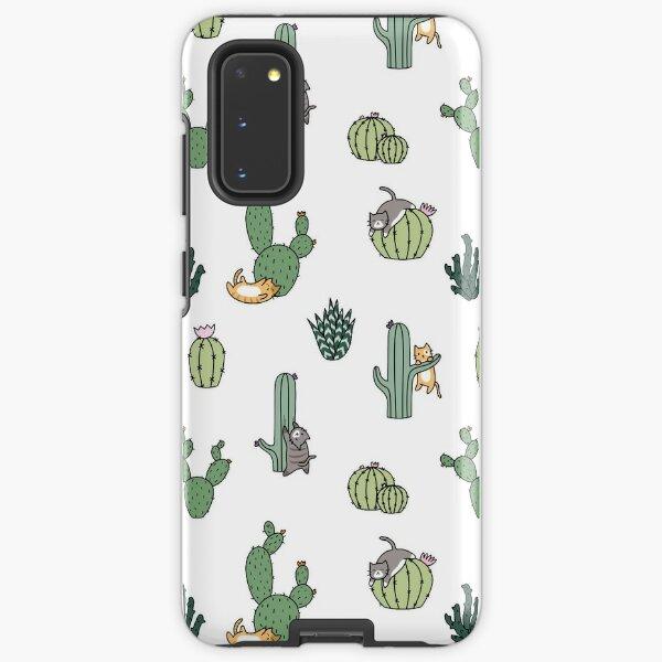 Cacti Cats Samsung Galaxy Tough Case