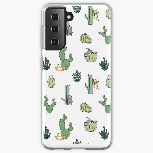 Cacti Cats Samsung Galaxy Soft Case