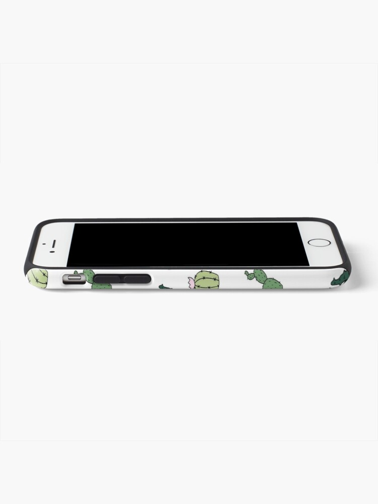 Alternate view of Cacti Cats iPhone Case & Cover