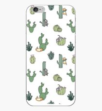 Cacti Cats iPhone Case