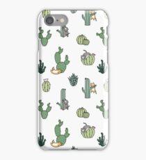 Kakteenkatzen iPhone-Hülle & Cover