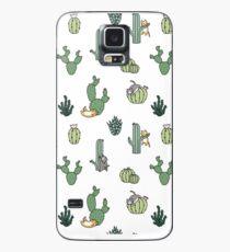 Funda/vinilo para Samsung Galaxy Gatos de cactus