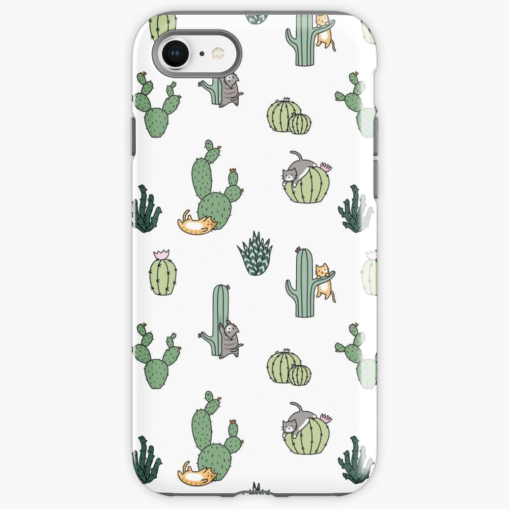 Cacti Cats iPhone Case & Cover
