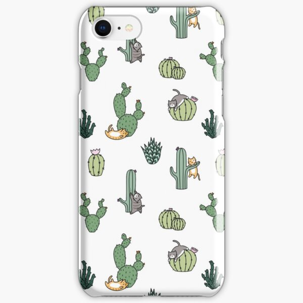 Cacti Cats iPhone Snap Case