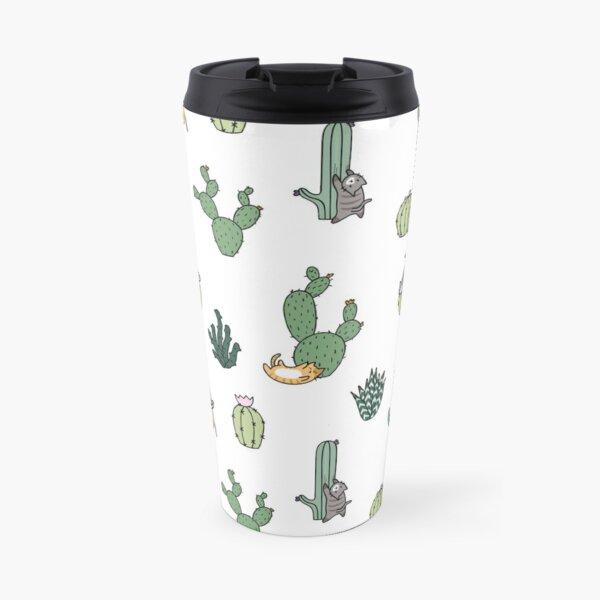 Cacti Cats Travel Mug