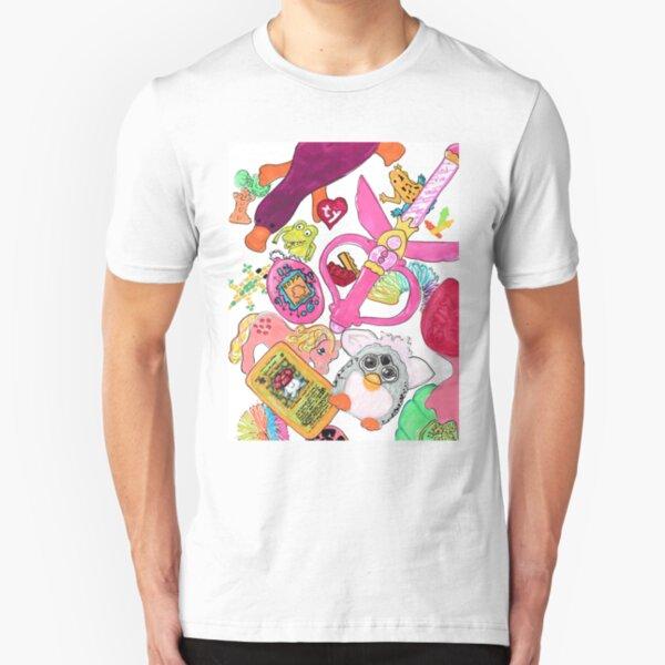 90's Kid Toys Pride  Slim Fit T-Shirt