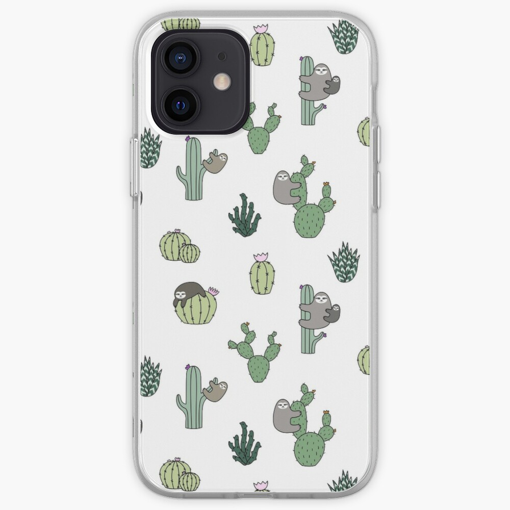 Cacti Sloths iPhone Case & Cover
