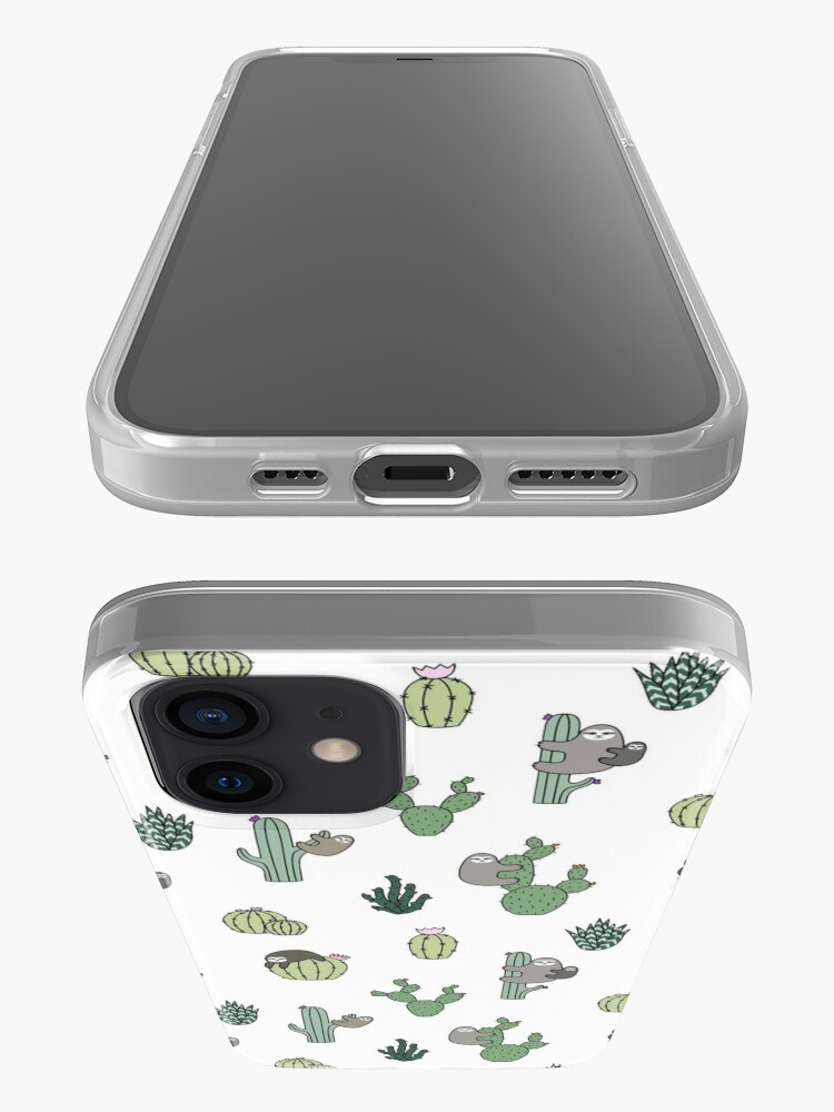 Alternate view of Cacti Sloths iPhone Case & Cover