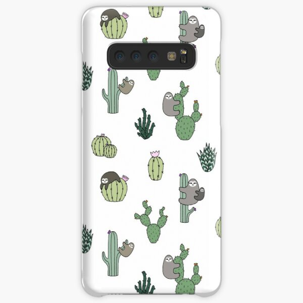 Cacti Sloths Samsung Galaxy Snap Case