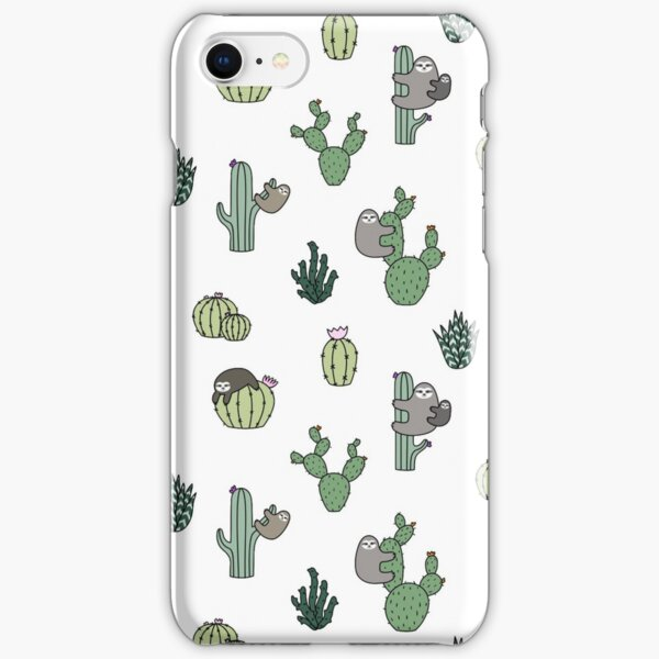 Cacti Sloths iPhone Snap Case