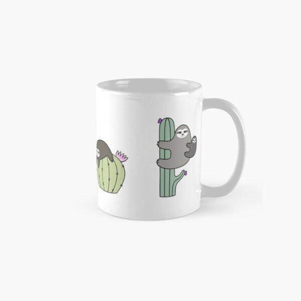 Cacti Sloths Classic Mug