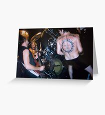 Rollins band Greeting Card