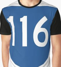 Australian State Route 116 | Australia Highway Shield Sign Graphic T-Shirt