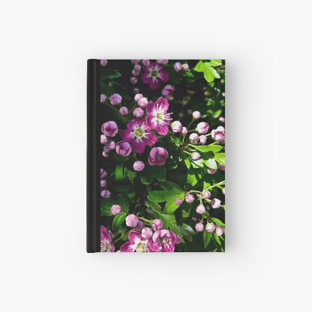 Spring Blooms Hardcover Journal