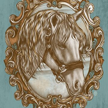 Ornate Horse Portrait by jillsandersart