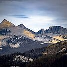 Golden Shadows Yosemite by John Heywood