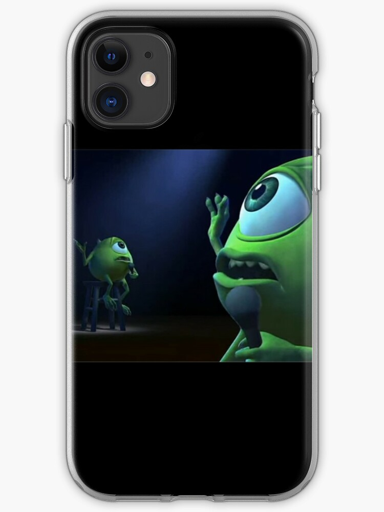 10 Year Old Me Mike Wazowski Monsters Inc Meme Iphone Case Cover By Gobblefunk Redbubble