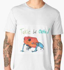 Toxic but Cute Frog  Men's Premium T-Shirt