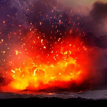 Kilauea Volcano at Kalapana 9 by alex4444