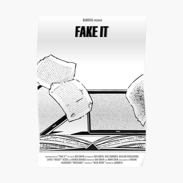 Bastille // Fake It Poster