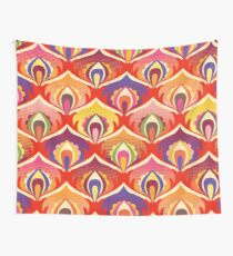 Flower power hippie floral Wall Tapestry