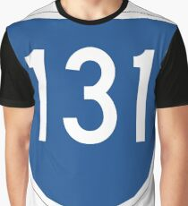 Australian State Route 131 | Australia Highway Shield Sign Graphic T-Shirt