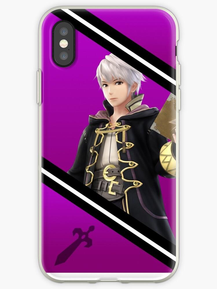 Robin/Male Original-Smash 4 Phone Case by Ayo B