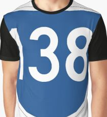 Australian State Route 138 | Australia Highway Shield Sign Graphic T-Shirt
