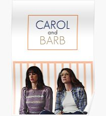 Carol and Barb from Orange is the New Black Poster
