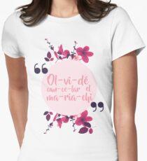Camiseta entallada para mujer Olvidé cancelar el mariachi