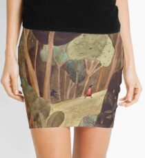 Walk in a forest Mini Skirt