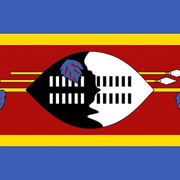 Swaziland - National Flag - Current by CrankyOldDude