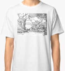 Fishing with Totoro Classic T-Shirt