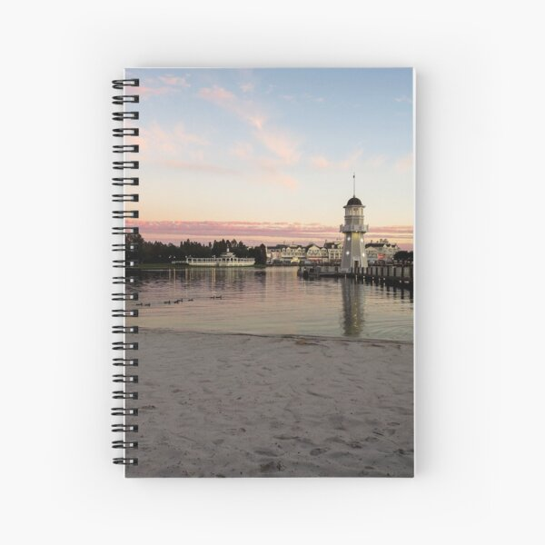 Boardwalk Stroll Spiral Notebook