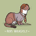Ron Weasely by carlbatterbee