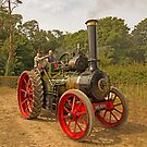 Molly the traction engine by Jon Lees