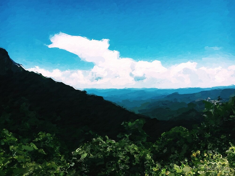 Mountain Painting - Devil's Courthouse, NC