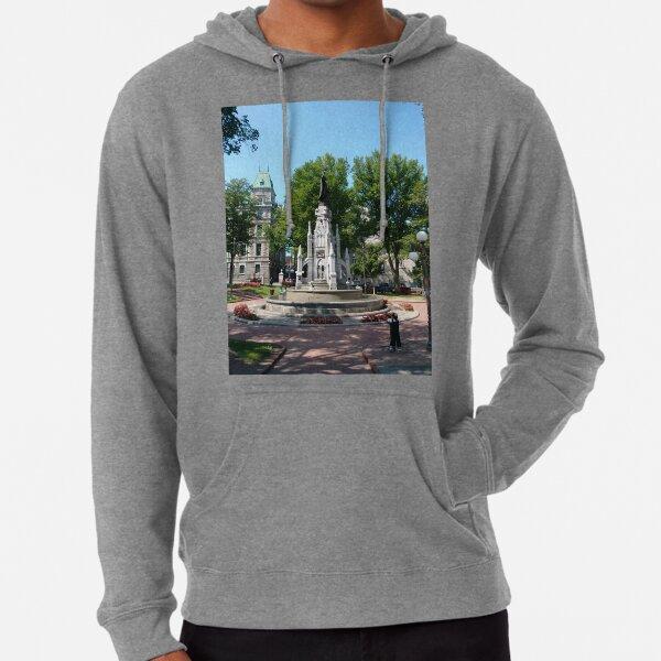 Quebec City, #QuebecCity, #Quebec, #City, #Canada, #buildings, #streets, #places, #views, #nature, #people, #tourists, #pedestrians, #architecture, #flowers, #monuments Lightweight Hoodie