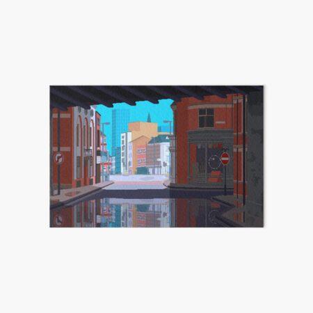 Leeds, UK Pixel Art Art Board Print
